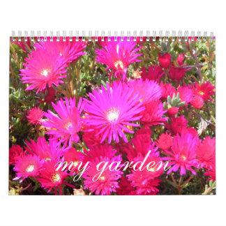 mi jardín calendario