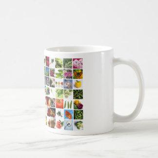 Mi jardín colorido taza