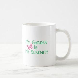 Mi jardín es mi serenidad tazas de café
