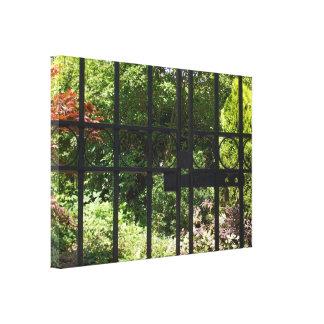 Mi jardín secreto impresión en lona estirada