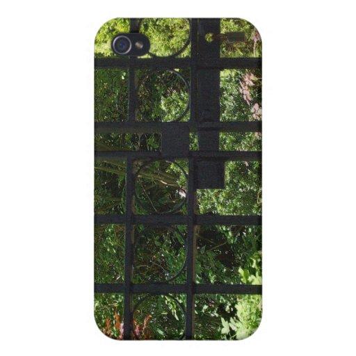 Mi jardín secreto iPhone 4 funda