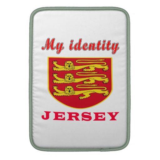Mi jersey de la identidad fundas para macbook air