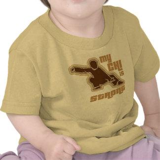 Mi ji es camiseta infantil fuerte