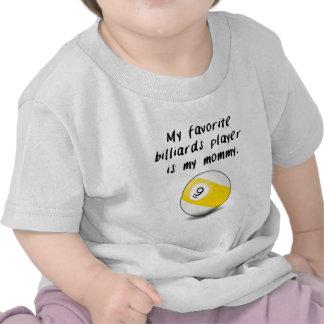 Mi jugador de billares preferido (bola nueve) es m camiseta