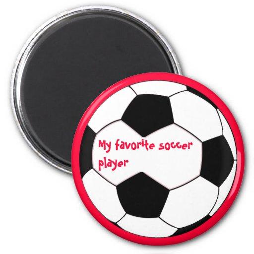 Mi jugador de fútbol preferido Magent Iman De Frigorífico