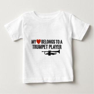 Mi jugador de trompeta del corazón polera