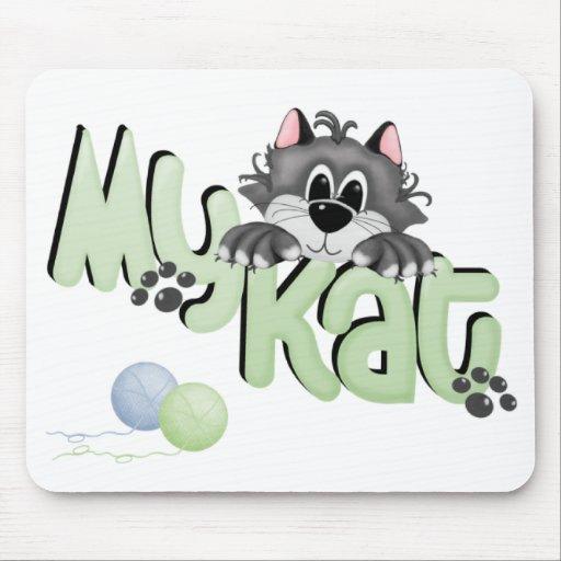 Mi Kat, muchacho Mousepad Tapetes De Ratón