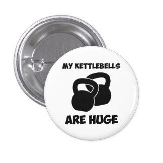 Mi Kettlebells es entrenamiento enorme Pin Redondo De 1 Pulgada