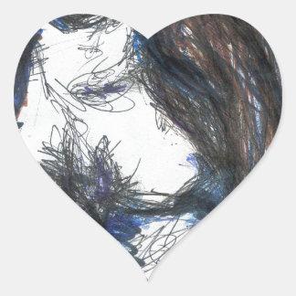 Mi Lady Belle Fleur Heart Sticker
