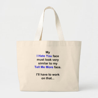 """Mi """"le odio cara""""… bolsa de mano"""
