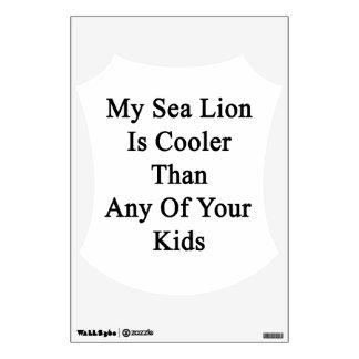 Mi león marino es más fresco que cualesquiera de vinilo adhesivo