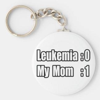 Mi leucemia del golpe de la mamá (marcador) llavero redondo tipo pin