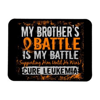 Mi leucemia demasiado 2 Brother de la batalla Imanes Rectangulares