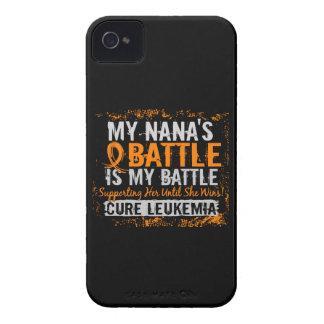 Mi leucemia demasiado 2 Nana de la batalla iPhone 4 Case-Mate Cobertura