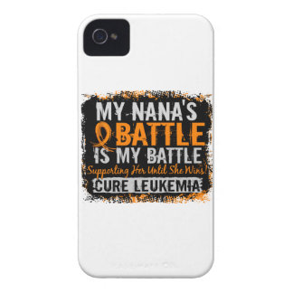 Mi leucemia demasiado 2 Nana de la batalla Case-Mate iPhone 4 Carcasas