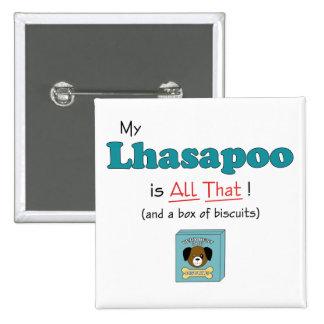 ¡Mi Lhasapoo es todo el eso! Pins