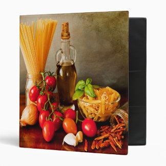 """Mi libro de cocina de la receta - bilateral carpeta 1"""""""
