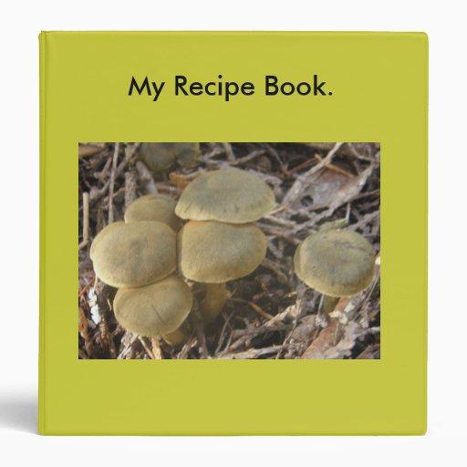 """Mi libro de la receta carpeta 1 1/2"""""""