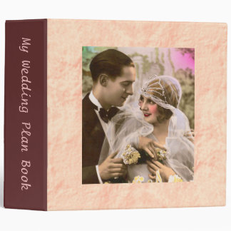"""Mi libro del plan del boda del vintage carpeta 2"""""""