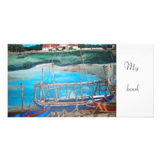 mi libro - señal tarjetas fotograficas