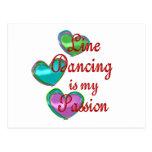 Mi línea pasión del baile postal