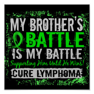 Mi linfoma demasiado 2 Brother de la batalla Poster