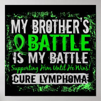 Mi linfoma demasiado 2 Brother de la batalla Póster
