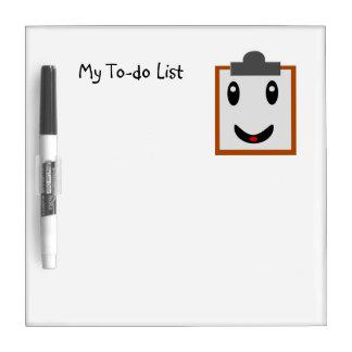 Mi lista de lío pizarras blancas