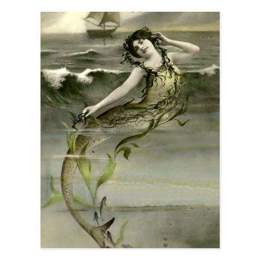 Mi little mermaid postales