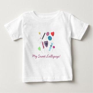 Mi Lollipop dulce Playera De Bebé