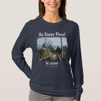 ¡Mi lugar feliz! Mt. LeConte en gran Mtns ahumado Playera