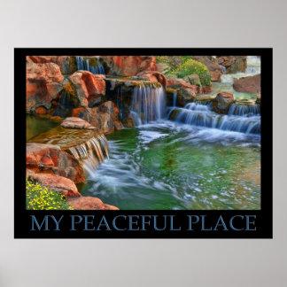 Mi lugar pacífico posters