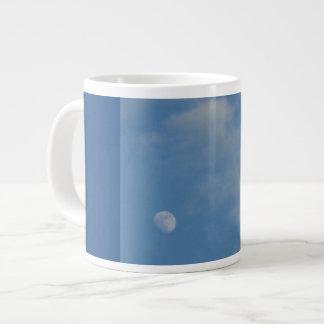 Mi luna diurna - taza de café enorme taza grande