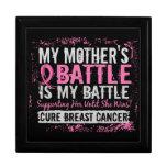 Mi madre del cáncer de pecho demasiado 2 de la bat caja de joyas