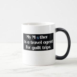 Mi madre es agente de viajes para los viajes de taza mágica