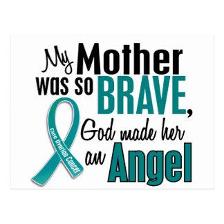 Mi madre es un cáncer ovárico del ángel 1 postal