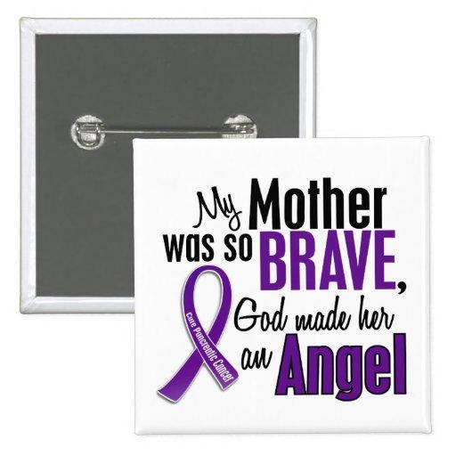 Mi madre es un cáncer pancreático del ángel pin cuadrado