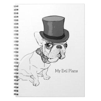 """""""Mi mal planea"""" el cuaderno"""