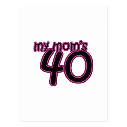 Mi mamá 40 tarjetas postales