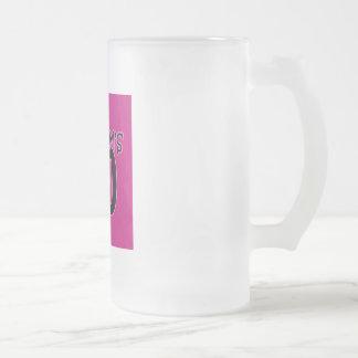 Mi mamá 40 taza cristal mate