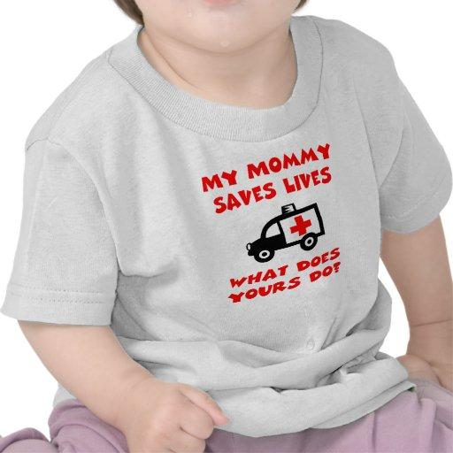 Mi mamá ahorra la camiseta de las vidas