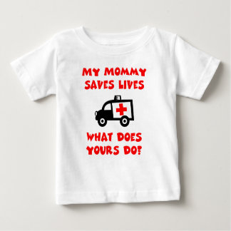 Mi mamá ahorra la camiseta de las vidas polera