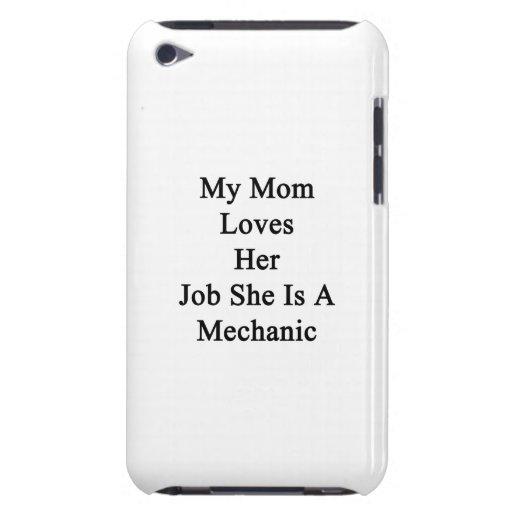 Mi mamá ama su trabajo que ella es mecánico iPod Case-Mate protector