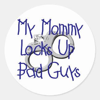 Mi mamá cierra para arriba a chicos malos etiquetas
