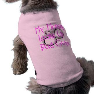 Mi mamá cierra para arriba a chicos malos camisas de perritos