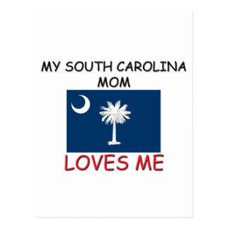 Mi mamá de Carolina del Sur me ama Postales