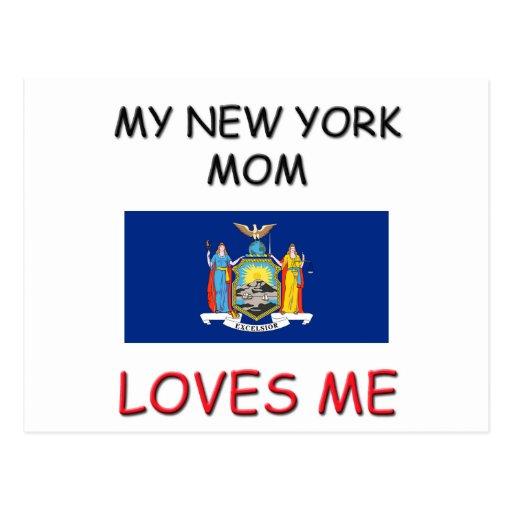 Mi mamá de Nueva York me ama Tarjetas Postales