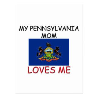 Mi mamá de Pennsylvania me ama Postal