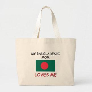 Mi mamá del bangladeshí me ama bolsas de mano