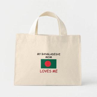 Mi mamá del bangladeshí me ama bolsa lienzo